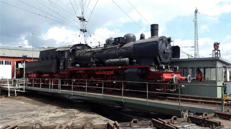 Neuzugang: Die Dampflok 38 1772